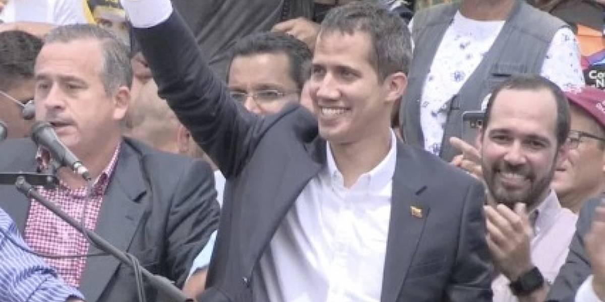 La alegría de Duque porque Guaidó entró a Venezuela
