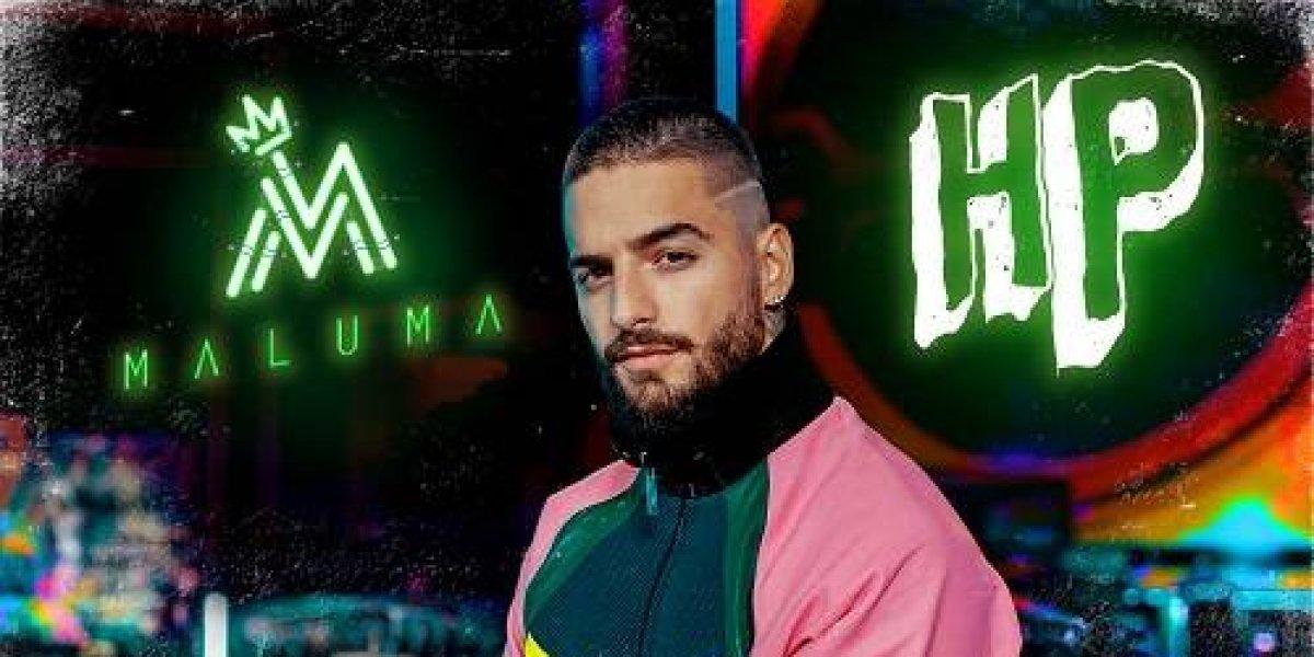 "Maluma vuelve al ruedo con su tema ""HP"""