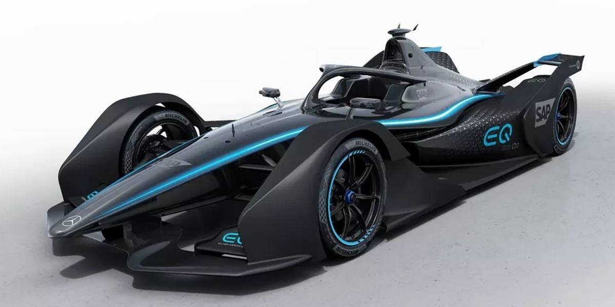 Tiembla Ferrari: Mercedes-Benz muestra su primer coche de carreras eléctrico