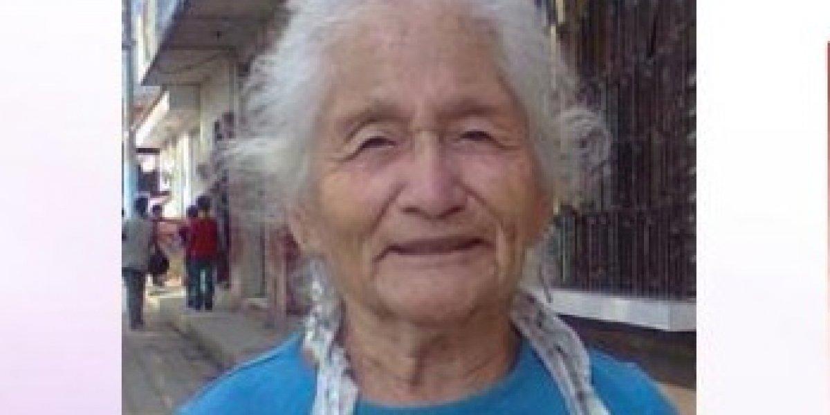 Localizan en carretera a ancianita que fue reportada como desaparecida