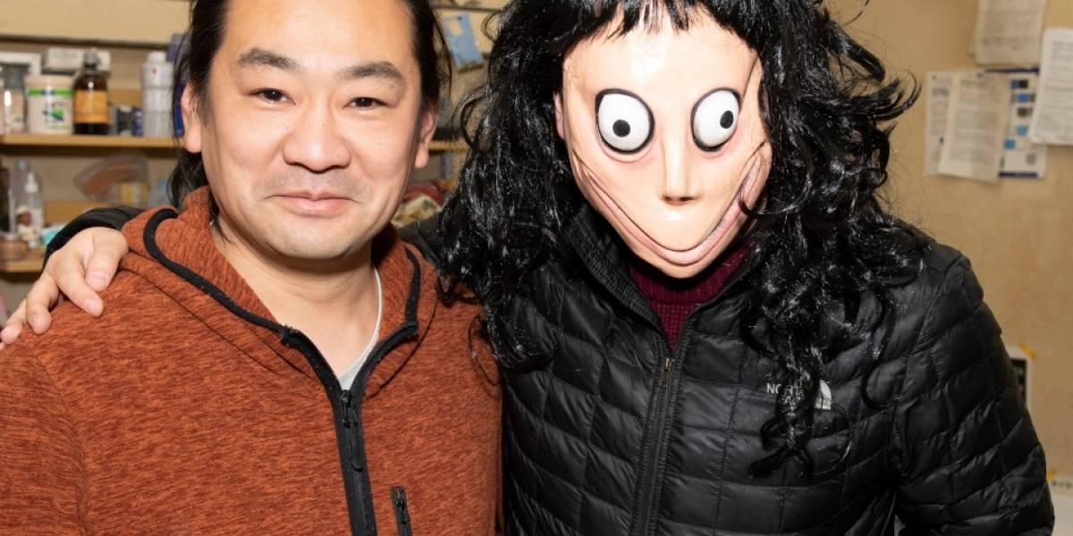 """Creador de Momo tiró la escultura a la basura y dice que """"la maldición se ha ido"""""""