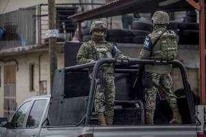 Operativo de seguridad en Tijuana