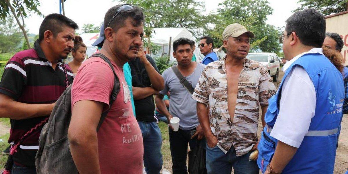 Derechos humanos de afectados por erupción del volcán de Fuego han sido violados, según PDH