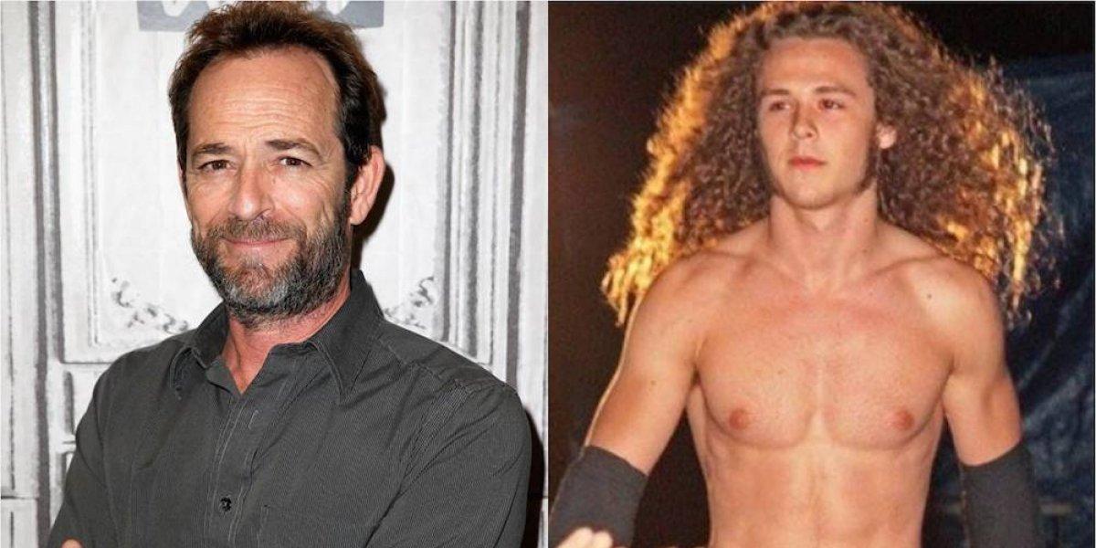 Luke Perry siempre apoyó la carrera de luchador de su hijo