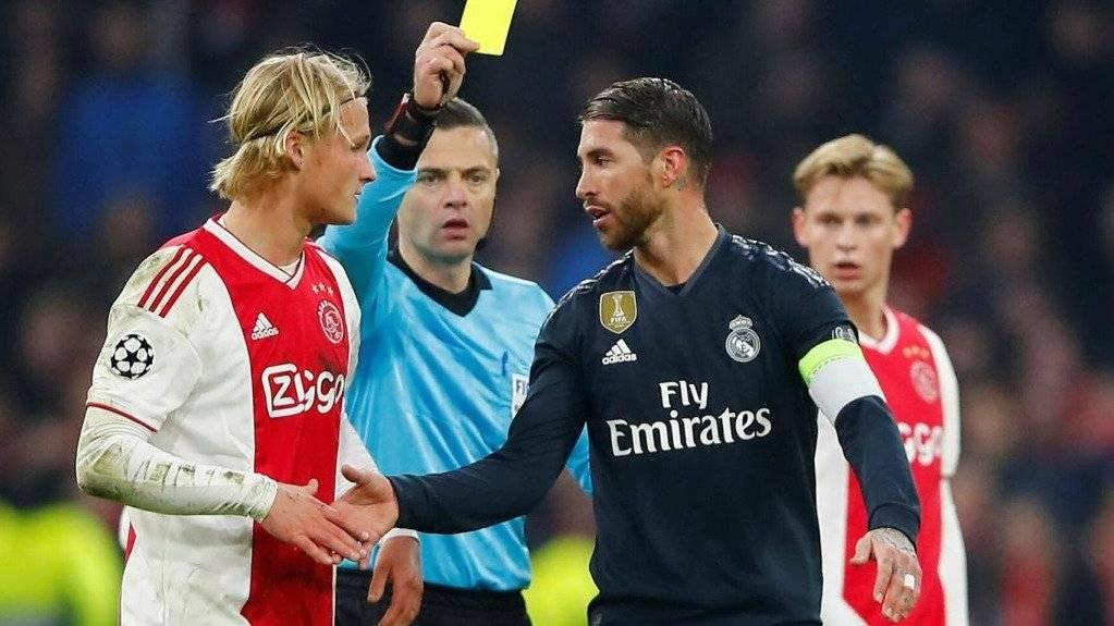 Real Madrid vs. Ajax Champions League