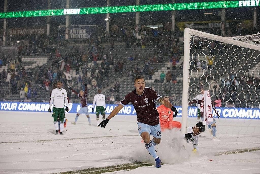 El partido más frío en la historia de la MLS