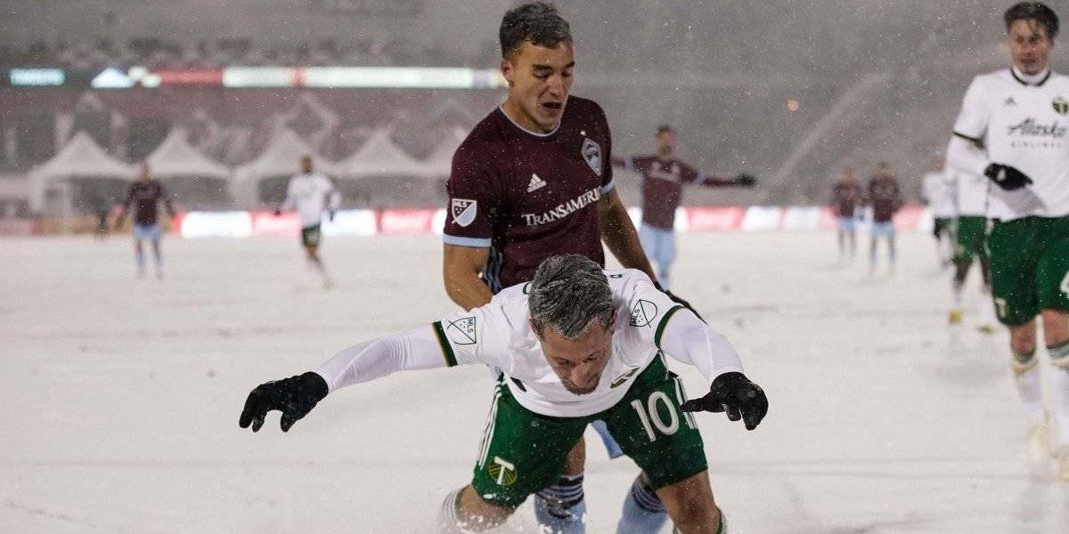 Rapids vs Timbers el partido más frío en la historia de la MLS