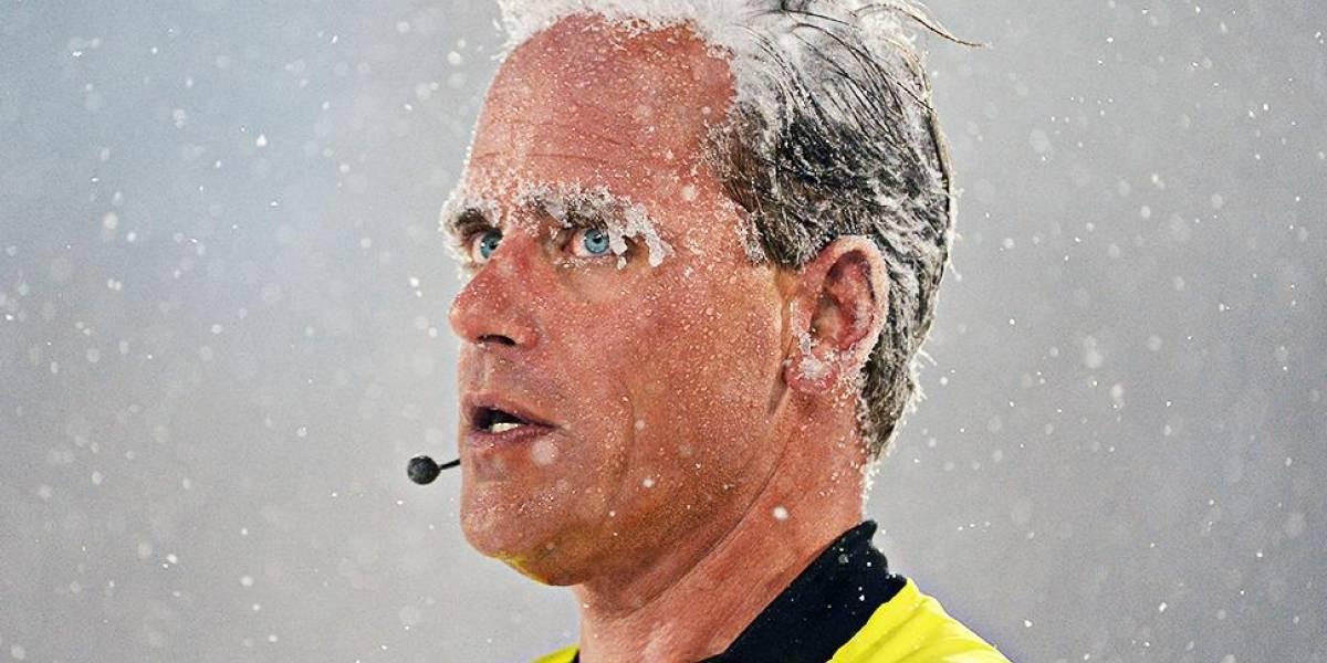 ¡Se congelan! Se disputa el partido más frío en la historia de la MLS