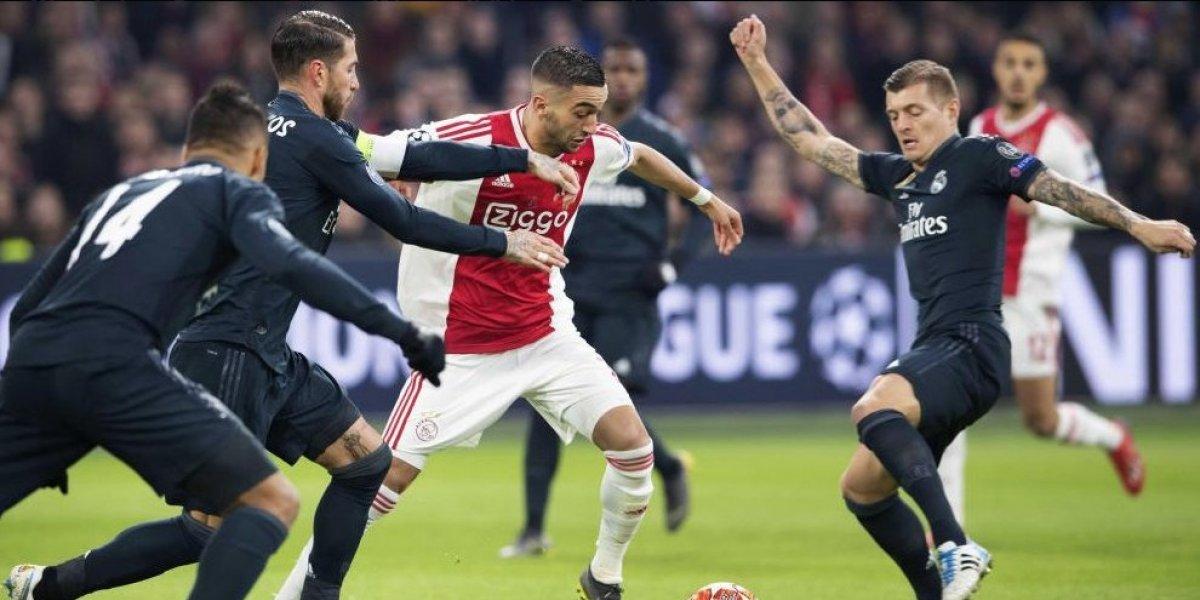 Un herido Madrid recibe al Ajax en la Champions, el único torneo que le queda