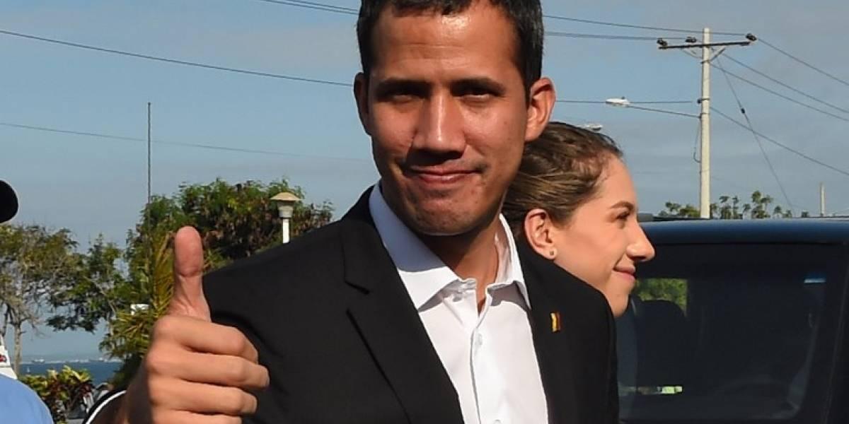 Los primeros mensajes de Juan Guaidó tras regresar a Venezuela