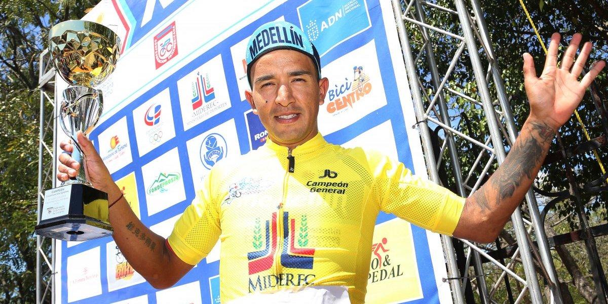 Robinson Chalapud se corona campeón de la edición 40 Vuelta Ciclista Independencia