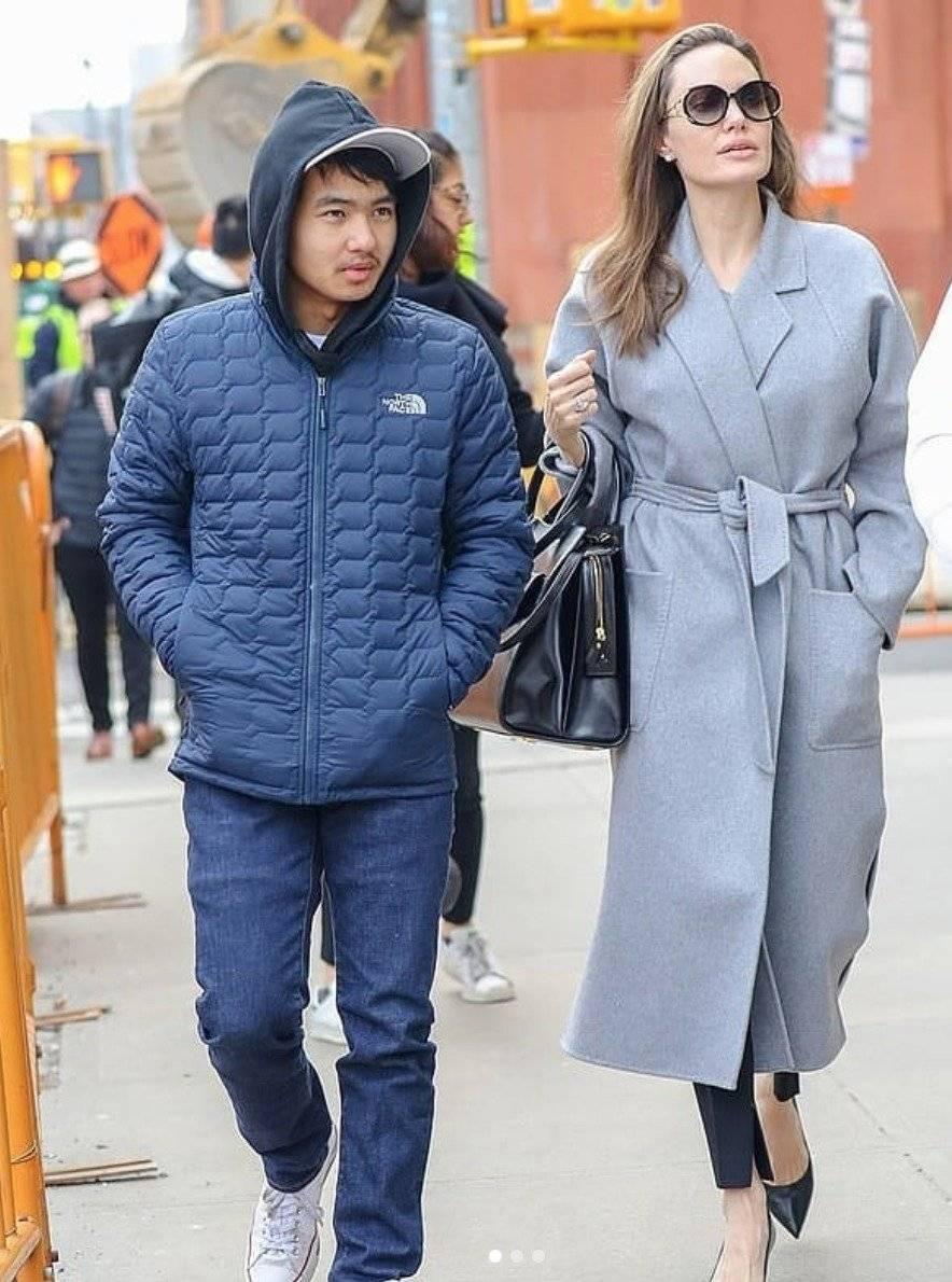 hijos de Angelina Jolie 2019