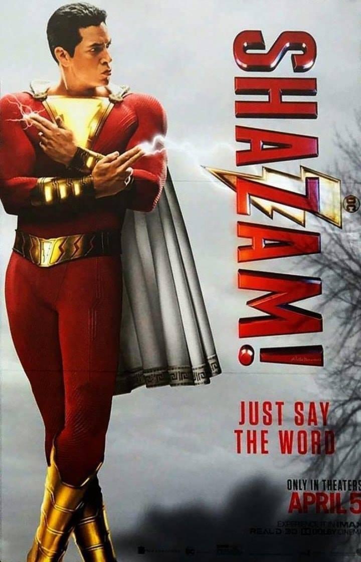 Shazam Poster