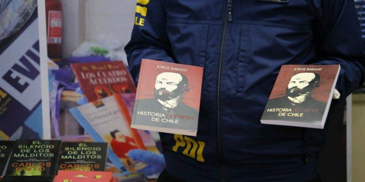 Paulo Coelho, Jorge Baradit e Isabel Allende entre los favoritos: PDI incauta más de cinco mil libros falsificados en San Diego