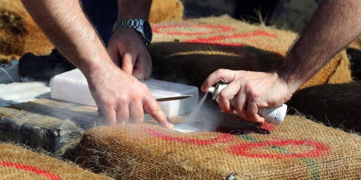 Aumenta el tráfico de cocaína por Centroamérica hacia Europa y EEUU