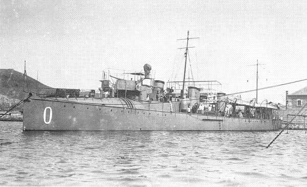 España barcos