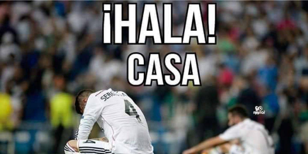 Los mejores memes de la eliminación del Real Madrid de Champions League