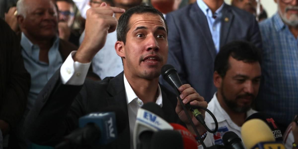 """Juan Guaidó: """"Maduro está solo y atrincherado"""""""