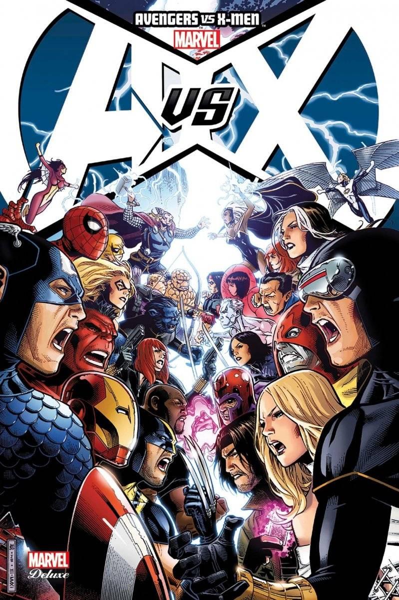 Marvel estaría planeando crossover de 'Avengers vs. X-Men'