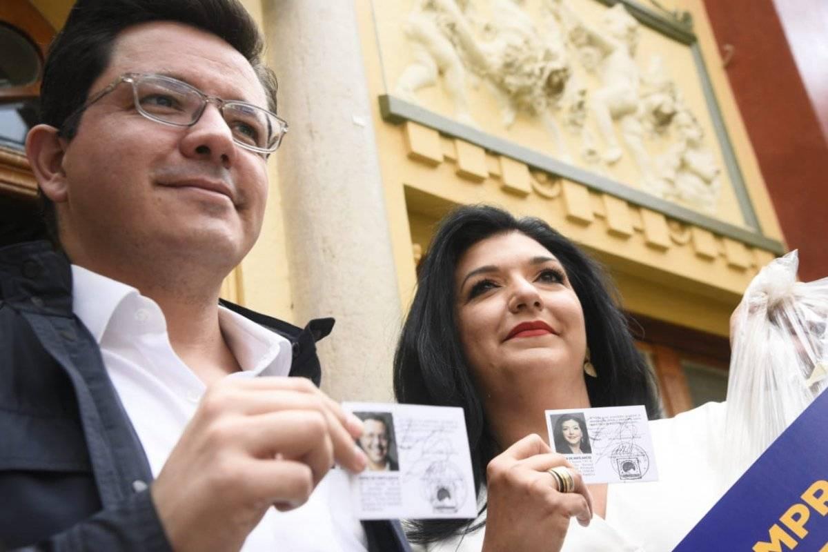 Candidatos del partido Creo Herlindo Zet, Emisoras Unidas 89.7