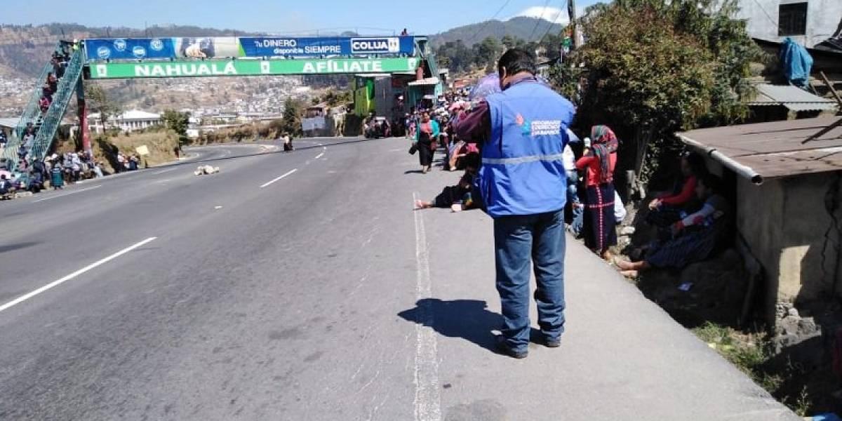 Conflictividad en Sololá: Denuncian desaparición de un poblador