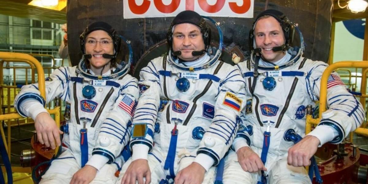 NASA enviará mais três astronautas ao espaço ainda neste mês