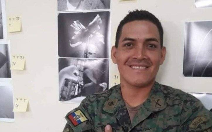Militar ecuatoriano