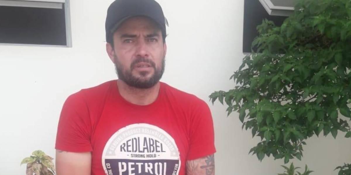 Manabí: Jaime Iván Kaviedes fue detenido por agresión física y verbal a mujer