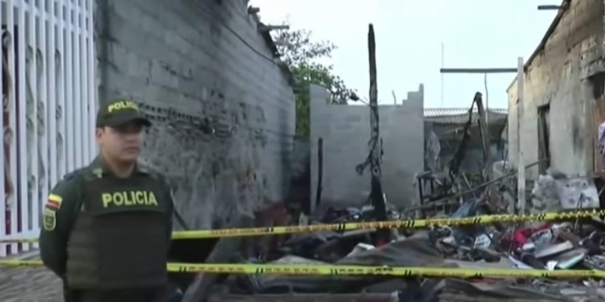 Pelea entre primos por una billetera terminó con muerto y casas quemadas