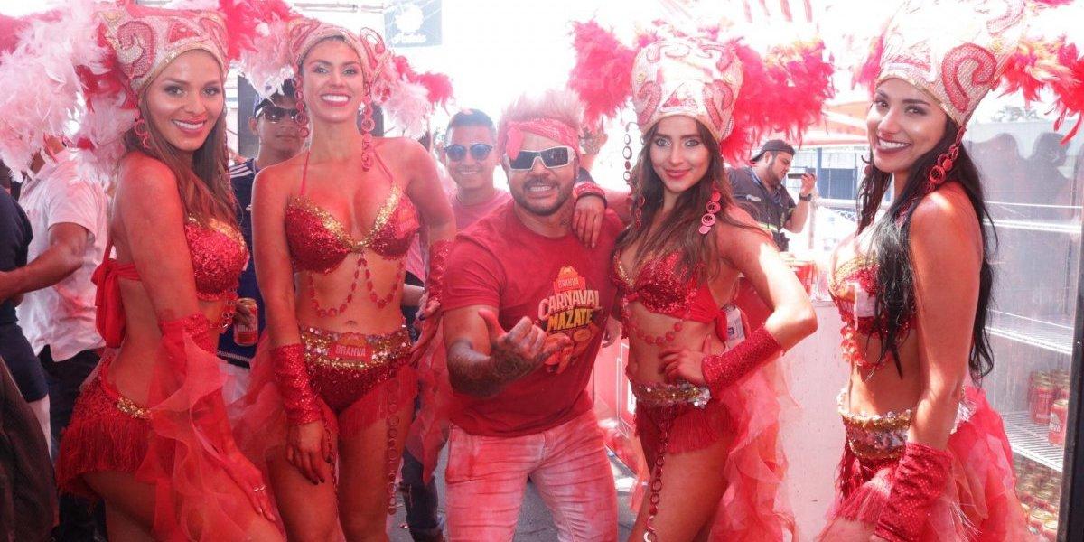 La sensualidad se hace presente en el Carnaval de Mazate 2019