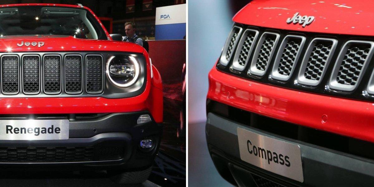 Jeep Renegade e Compass 2020: veja as fotos dos híbridos apresentados no Salão de Genebra 2019