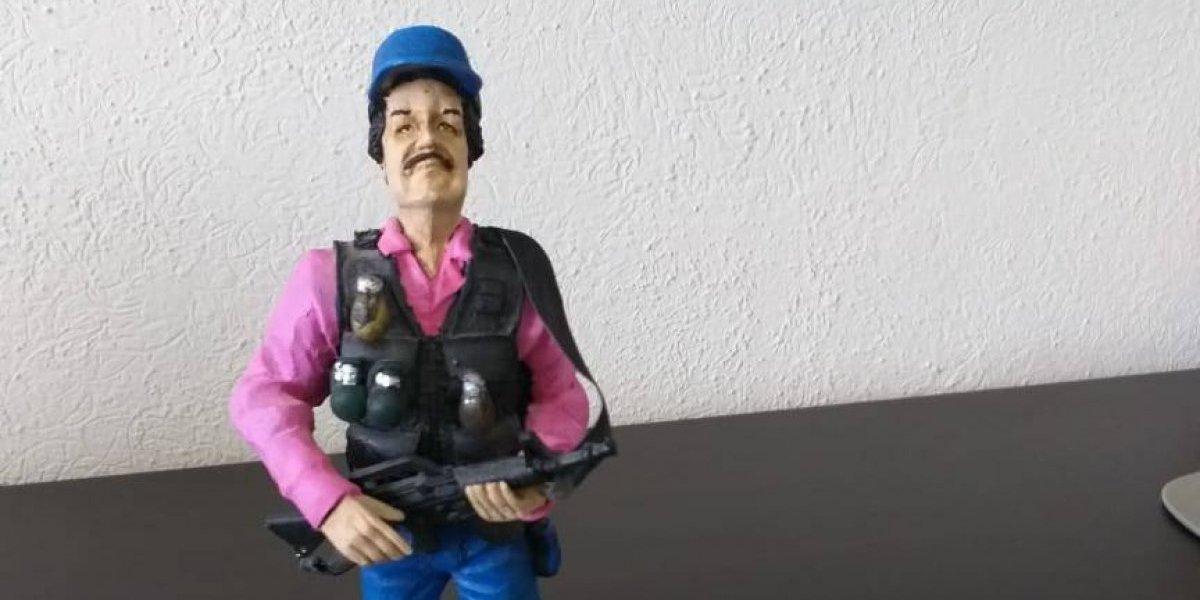 Hasta en mil 300 pesos se cotiza figura de El Chapo elaborada con huesos