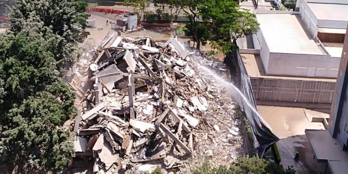El secreto que esconde el edificio Mónaco tras su derrumbe