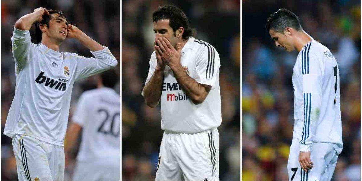 Fracasos y humillaciones del Real Madrid en los últimos años