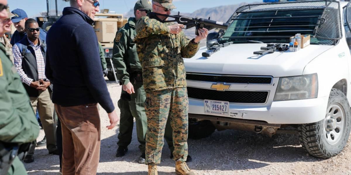 Disminuye uso de armas de fuego por agentes fronterizos de EU