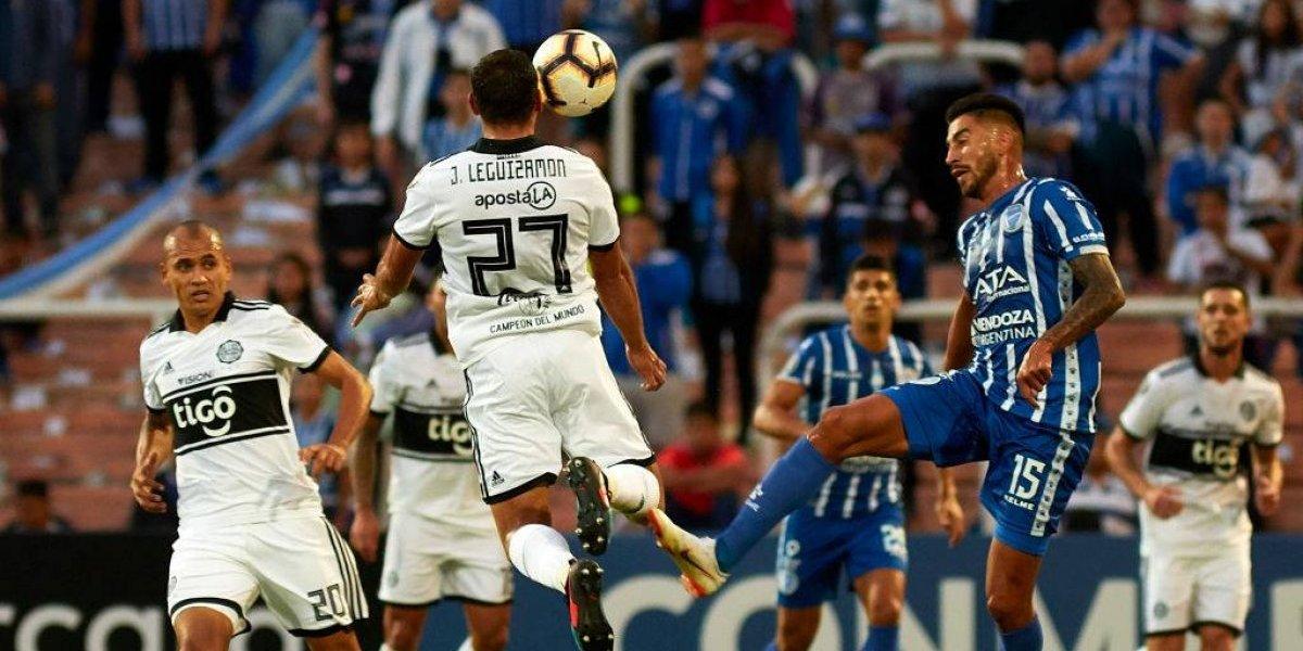 Atención Campanil: Godoy Cruz y Olimpia ni siquiera dispararon al arco en duelo por la Libertadores