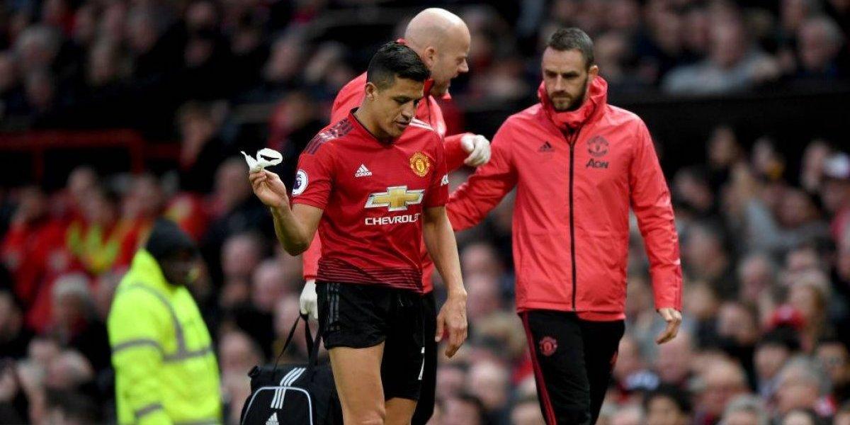 Comenzaron los rumores en Inglaterra: Alexis Sánchez se irá de Manchester United a fin de temporada