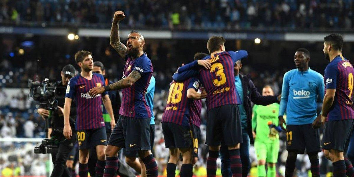 """El """"Alien"""" Vidal ahora gana elogios en Barcelona: """"Es el futbolista número 12 imprescindible en cualquier equipo"""""""