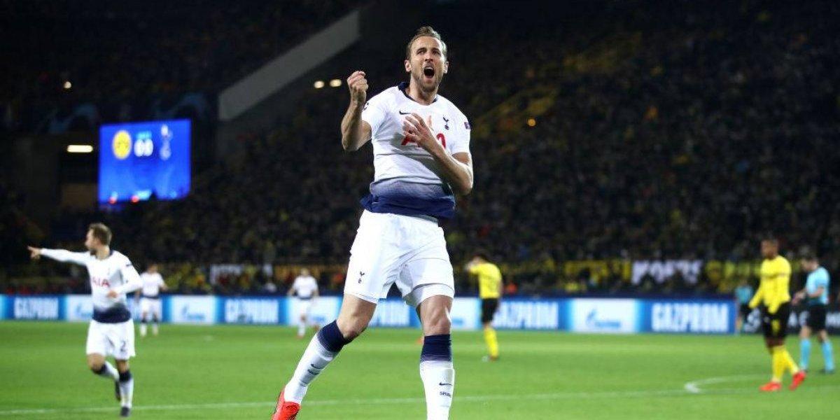 Tottenham se hace grande en Europa y elimina al Borussia Dortmund de la Champions