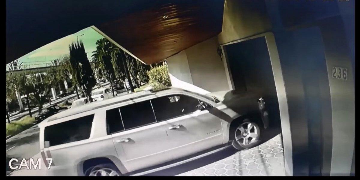 Revelan video Martha Erika Alonso y Moreno Valle antes de abordar helicóptero