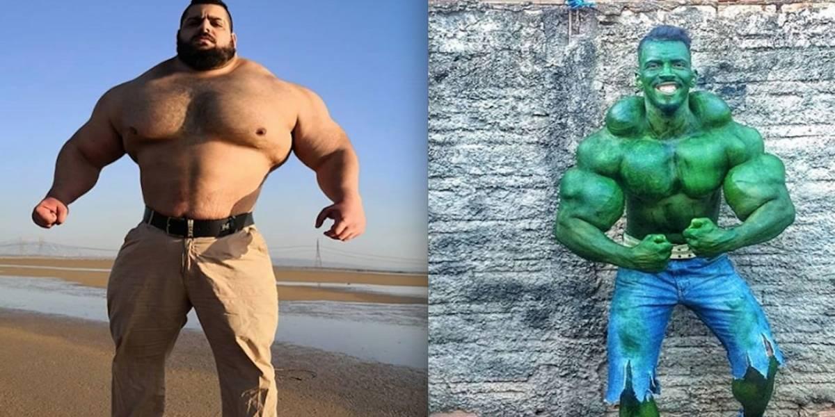 FOTOS: Hulk brasileño acepta combate contra el Hulk iraní