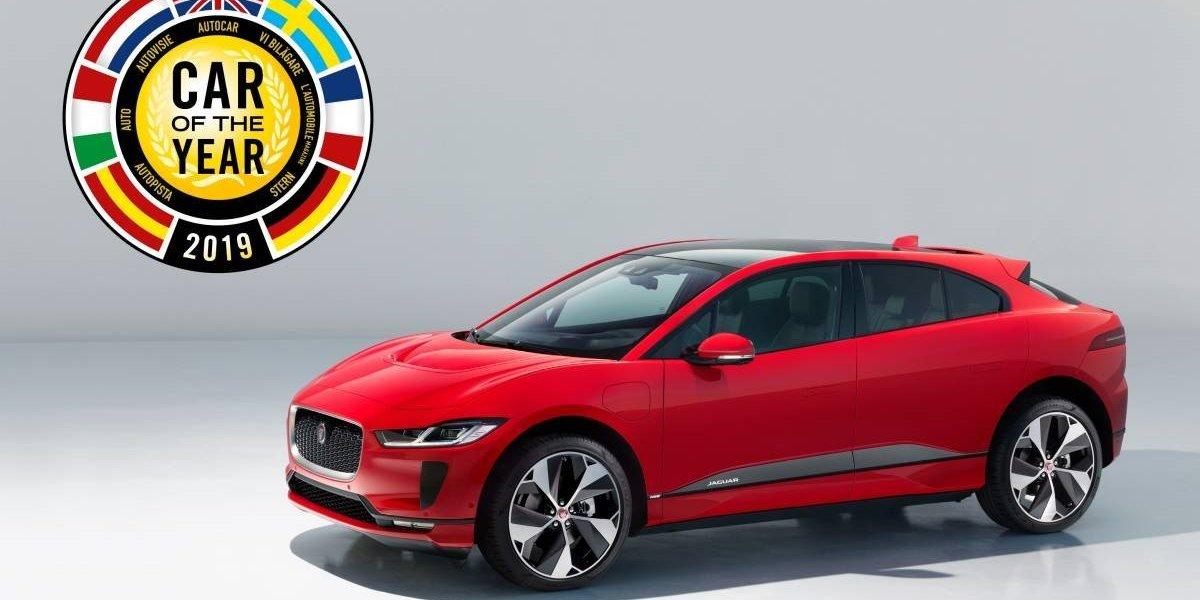 Jaguar I-Pace, el auto del año 2019 en Europa