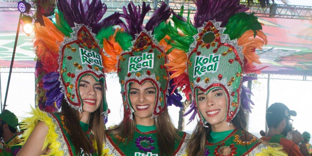 """Kola Real presentó su """"Carnaval de sabores"""""""