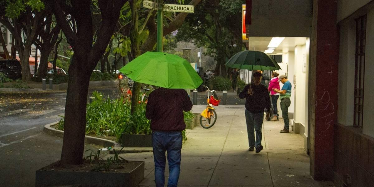 Se prevén lluvias por la noche en el Valle de México