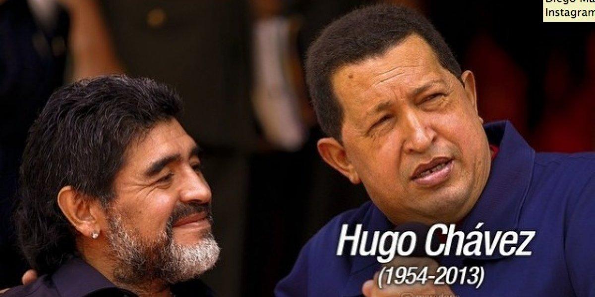 Maradona echa de menos a Hugo Chávez a seis años de su muerte