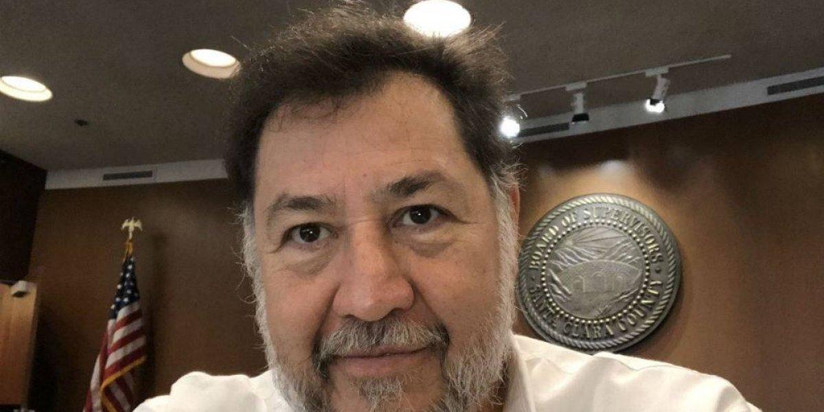 Fernandez Noroña recuerda a Hugo Chávez y lo tunden en redes