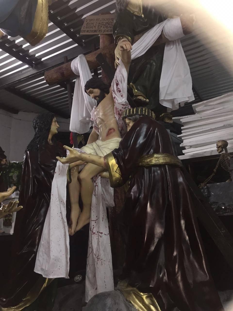Pasos procesionales de Santo Domingo Cortesía