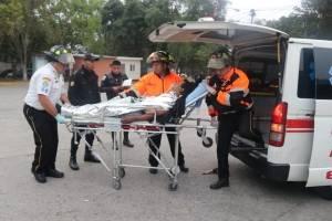 piloto y pasajero heridos por ataque a bus extraurbano en ruta a El Salvador