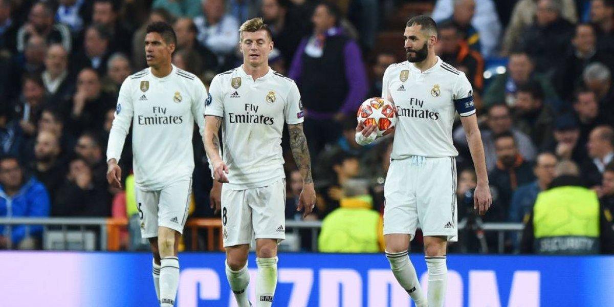 Real Madrid sufre séptima goleada en la temporada
