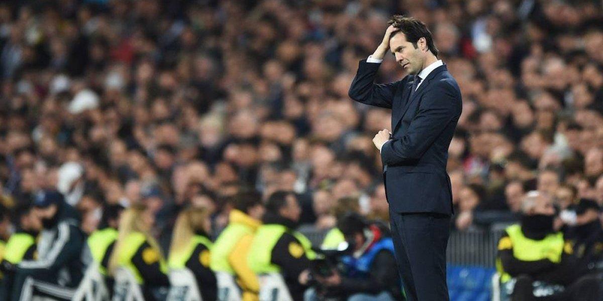Solari pide 'máxima tranquilidad' tras la eliminación del Real Madrid